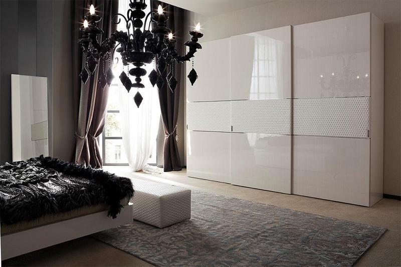 купить глянцевый шкаф купе можно в компании мебель 3d где купить