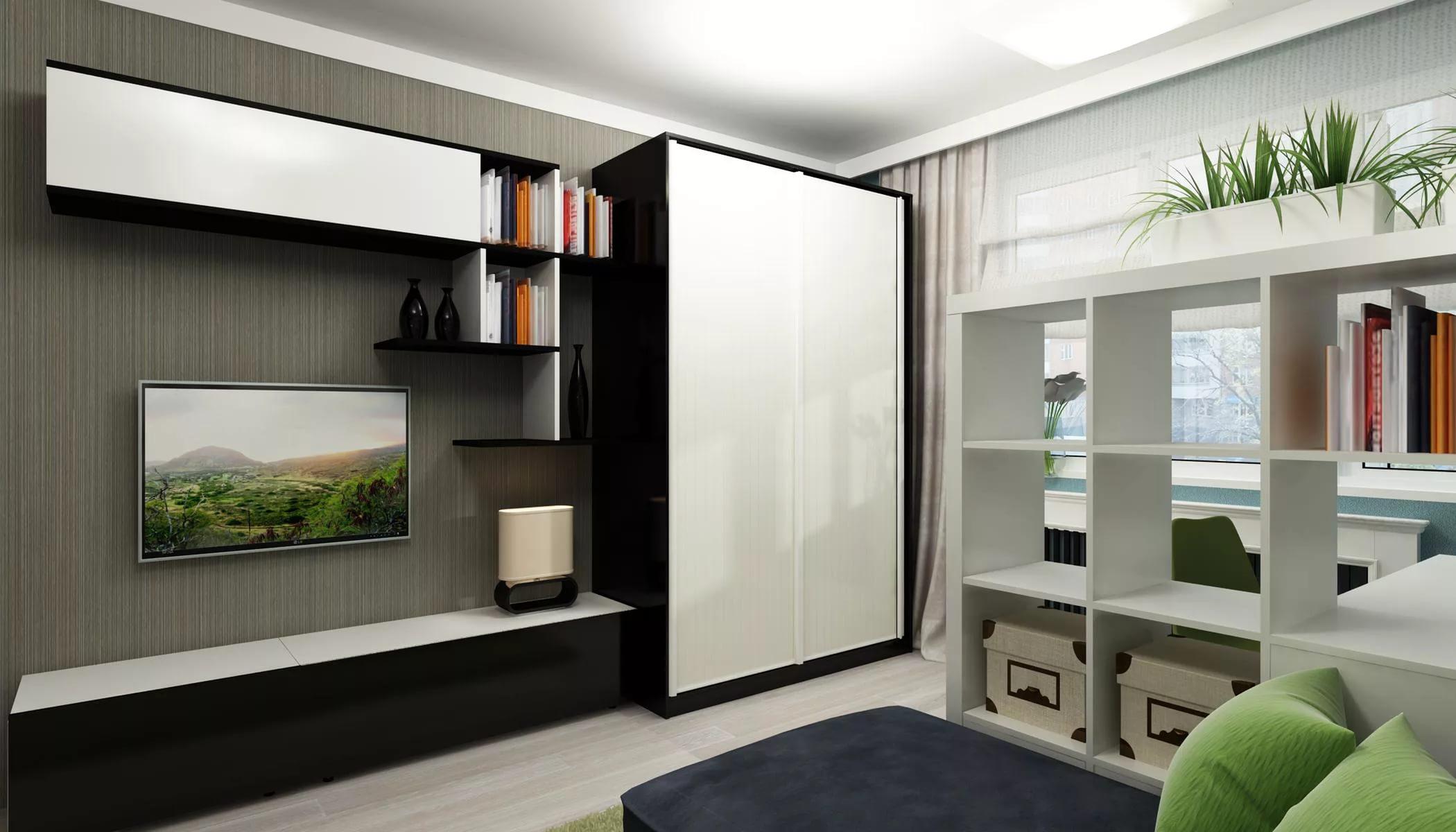 Оформление спальной комнаты с фотообоями само