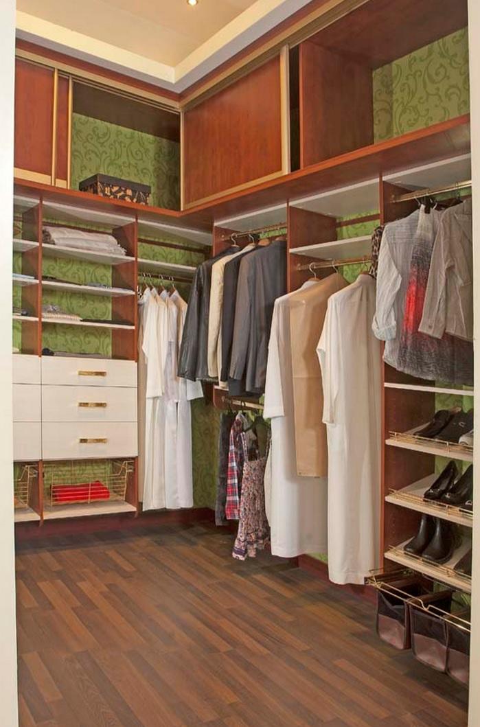 Расчет стоимости гардеробной комнаты.